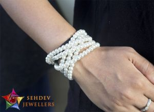 pearl layers bracelet