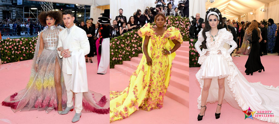 2019 Met Gala Fashion Celebrities and Jewelry