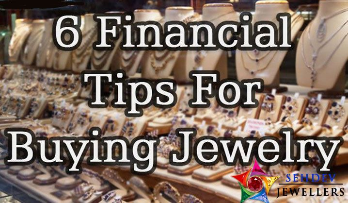6 financial tips for buying jewelry