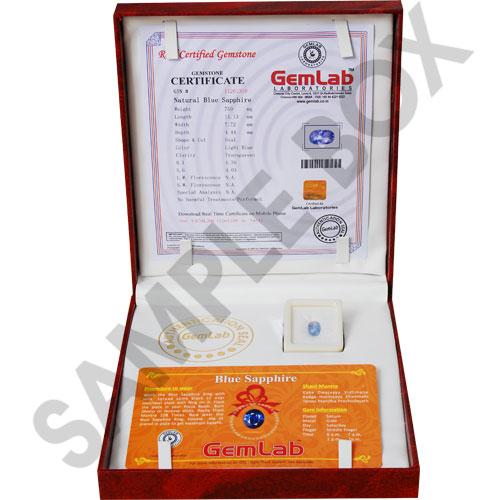 Gem Lab Certificate