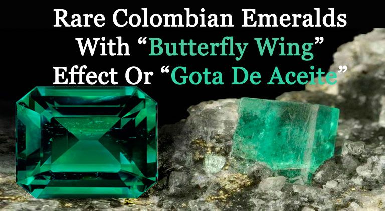 Butterfly wing effect in Emeralds