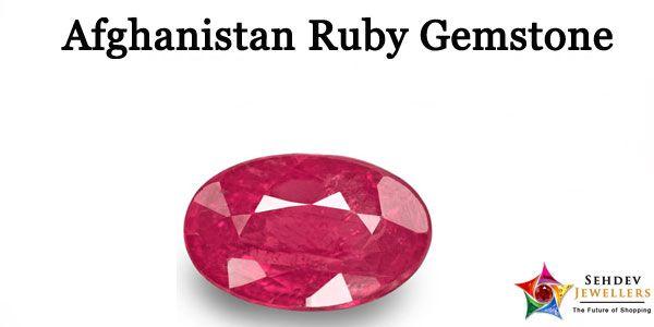 Afghanistan Ruby Stone