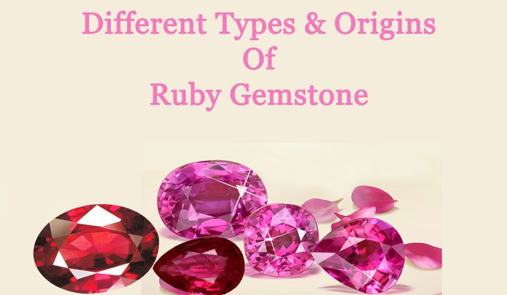 Different Types and Origins Of Ruby Gemstone
