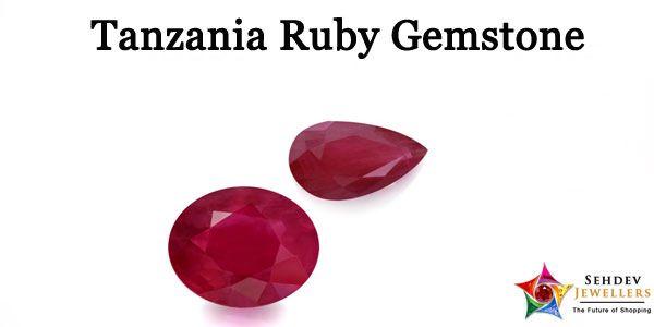 Tanzania Ruby Gemstone