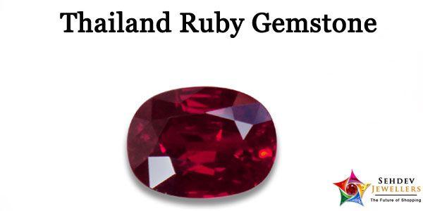 Thai Ruby Gemstone