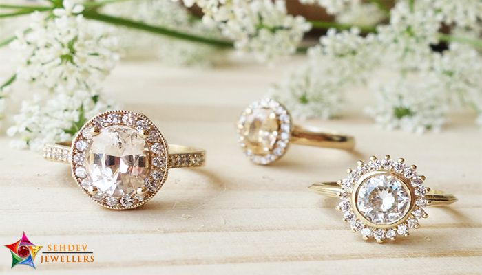 Famous Colored Gemstone Engagement Rings
