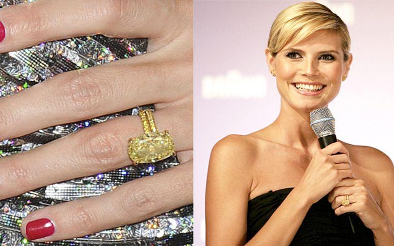 Heide Klum engagement ring