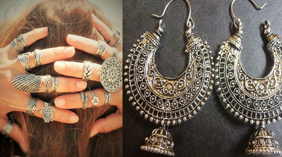 Boho Silver Jewelry