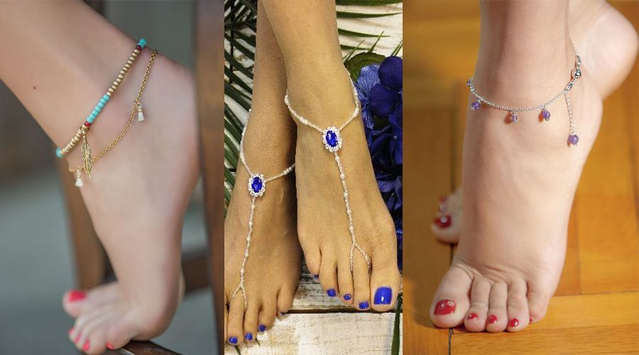 Gemstone Anklets