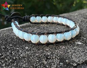 Opal stone bracelet for father