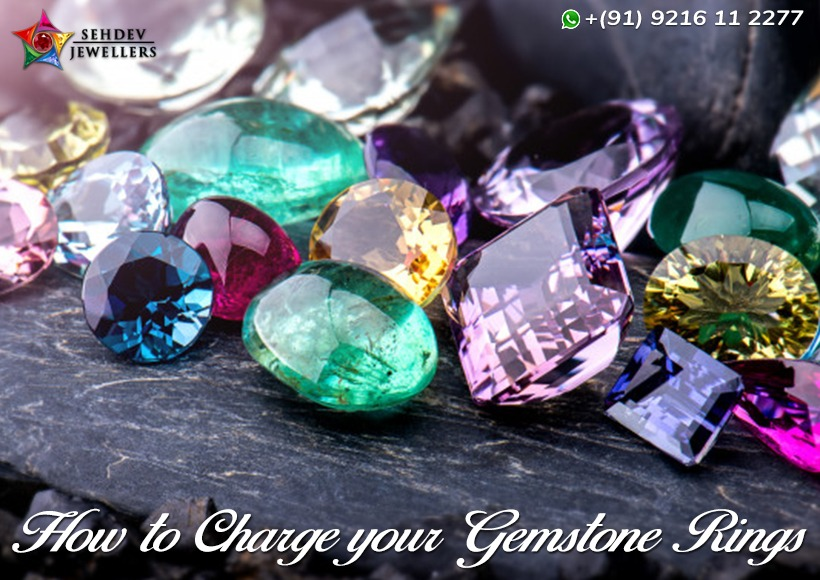 How to Charge Your Gemstones Rings