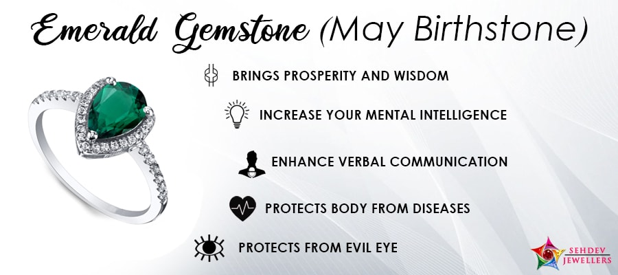 Gemstone For Good Luck For May Born People