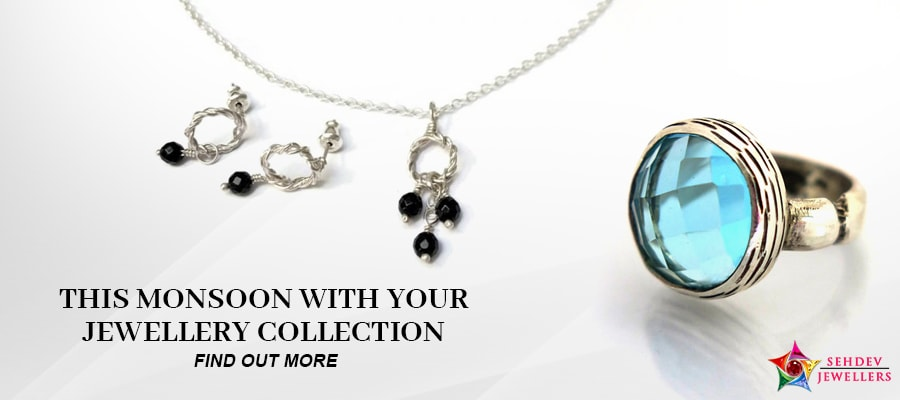 Latest Jewelry Collection For Monsoon Season