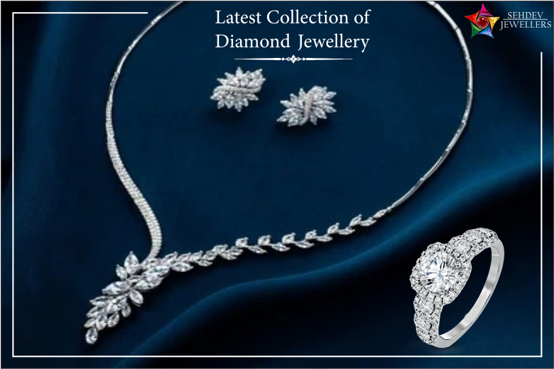 latest collection of diamond jewelry