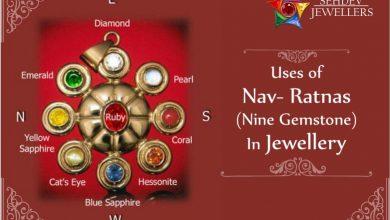 Uses of Nav- Ratnas (Nine Gemstones) in jewellery